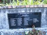 Pike river plaque