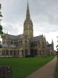 Salisbury Cathedral has some nice pubs nearby