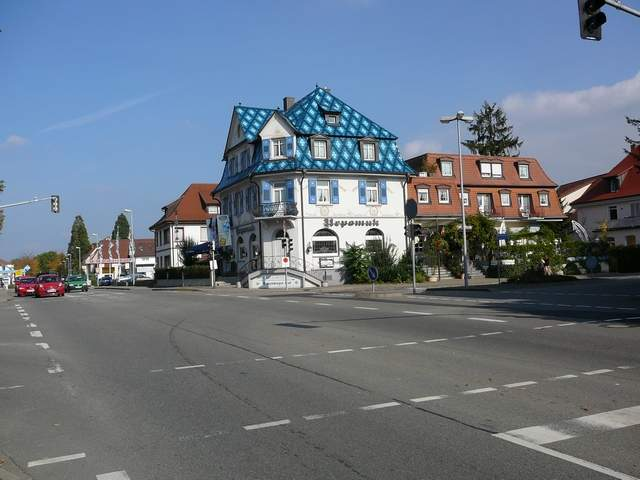 Interesting house in Bad Krozingen
