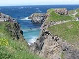 Carrick-a-Rede on the north coast of Ireland in County Antrim