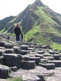 The Giants Causeway World Heritage Site in Northern Ireland