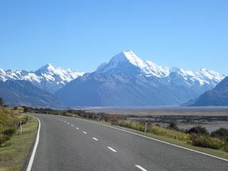 Mt Cook approach