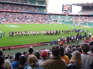 Jonah v Johno at twickenham