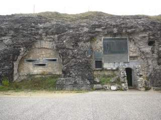 Entrance to Fort de Douaumont