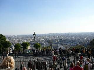 Overlooking Montmatre from Sacre Couer