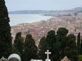 Menton from cemetery